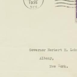 Envelope: 1935 September 30