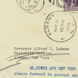 Envelope: 1934 May 11