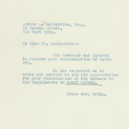 Letter: 1934 March 13