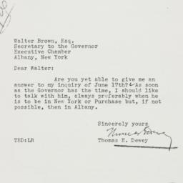 Letter: 1937 July 6