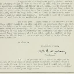 Letter: 1933 March 31