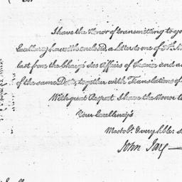 Document, 1785 December 29