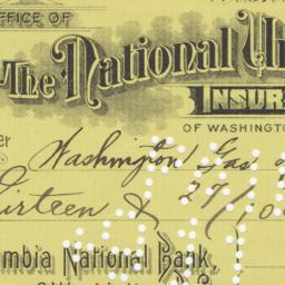 National Union Insurance Co...