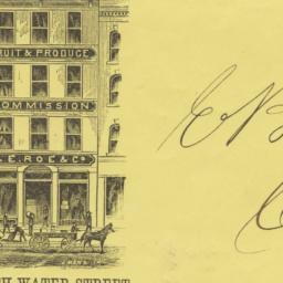 C. E. Roe & Co.. Envelope