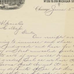 H. T. Thompson & Co.. Letter