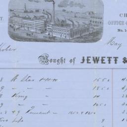 Jewett & Root. Bill