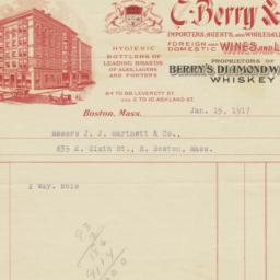 C. Berry & Co.. Bill