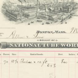 National Tube Works Company...
