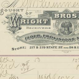 Wright Bros. & James. Bill