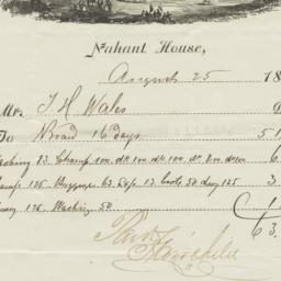 Nahant House. Bill