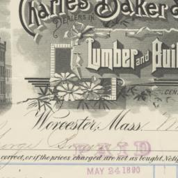 Charles Baker & Co.. Bill