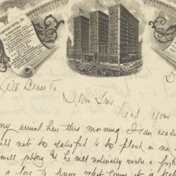 Planters Hotel. Letter
