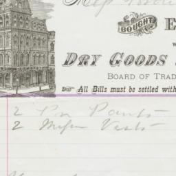 E. W. Willard & Co.. Bill