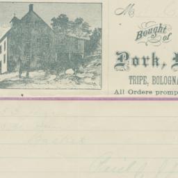 Geo. S. Clough & Co.. Bill