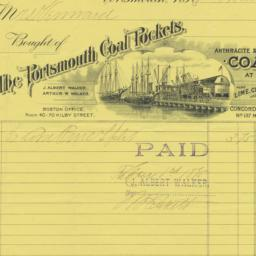 Portsmouth Coal Pockets. Bill