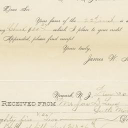 James W. Miller. Letter