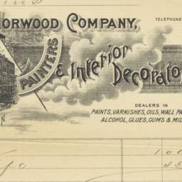 John Norwood Company. Letter