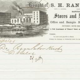 S. H. Ransom & Co.. Bill