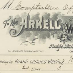 Arkell Weekly Co.. Bill