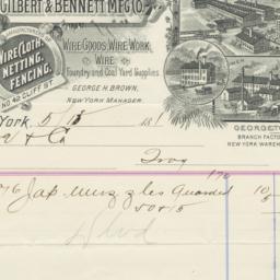Gilbert & Bennett M'fg' Co....