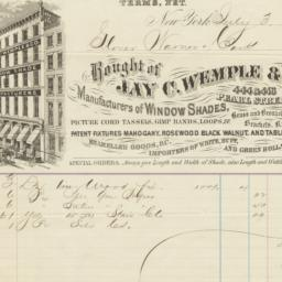 Jay C. Wemple & Co.. Bill