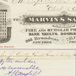 Marvin's Safe Co.. Bill