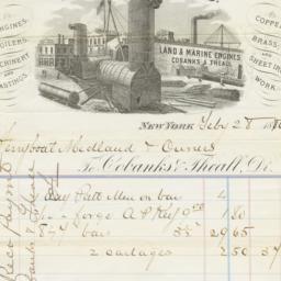 New York Iron Works. Bill