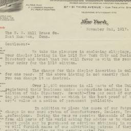 R.L. Polk & Co.. Letter