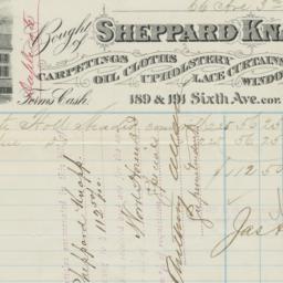 Sheppard Knapp. Bill
