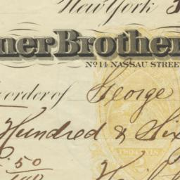 Turner Brothers, Bankers. C...