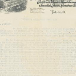 Gendron Wheel Co.. Letter