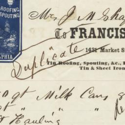 Francis P. Rogers. Bill