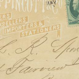 J.B. Lippincott & Co.. Enve...