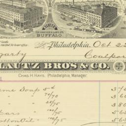 Lautz Bro's & Co.. Bill