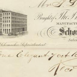 Schomacker & Co.. Bill