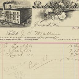 Rock River Cotton Co.. Bill