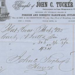John C. Tucker & Co.. Bill