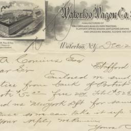 Waterloo Wagon Co. Limited....