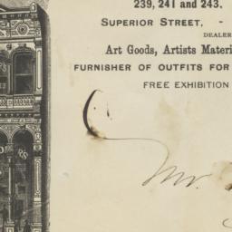 J. F. Ryder's Art Galleries...