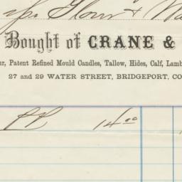 Crane & Hurd. Bill