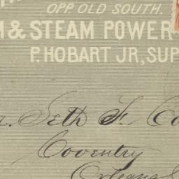 Peter Hobart, Jr.. Envelope