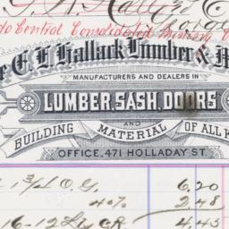 E. H. Hallack Lumber & Mfg....