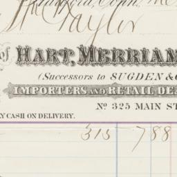 Hart, Merriam & Co.. Bill