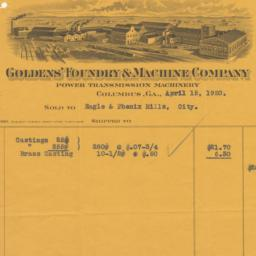 Golden's Foundry & Machine ...