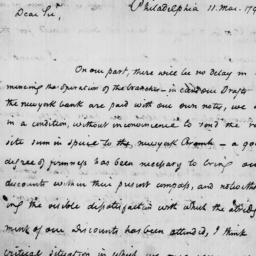 Document, 1792 March 11