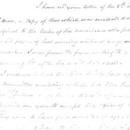 Document, 1822 January 11