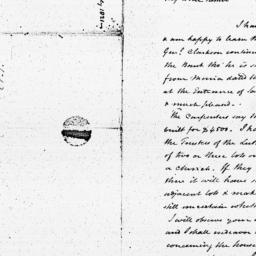 Document, 1821 August 12