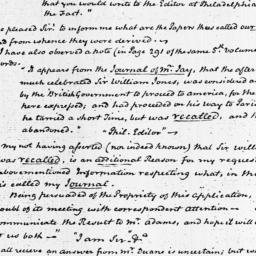 Document, 1821 March 20