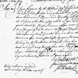 Document, 1750 March 20