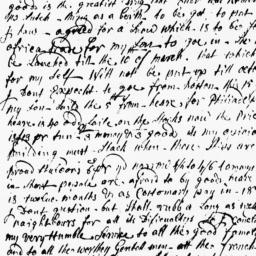 Document, 1737 August 10